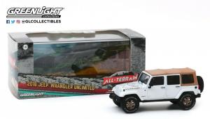 Macheta auto Jeep Wrangler Unlimited 2018 Golden Eagle, scara 1:431