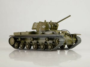 Macheta tanc rusesc KV-1, scara 1:430