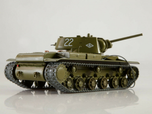 Macheta tanc rusesc KV-1, scara 1:431