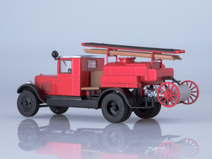 Macheta autospeciala pompieri PMZ-2 (ZIS 5) scara 1:432