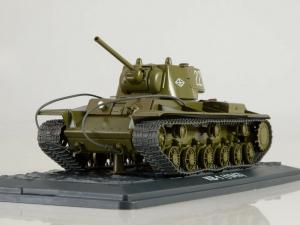Macheta tanc rusesc KV-1, scara 1:432