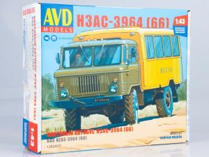 Kit macheta duba pentru persoane GAZ-66, scara 1:430
