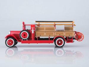 Macheta autospeciala pompieri PMZ-1 (ZIS 11) scara 1:436
