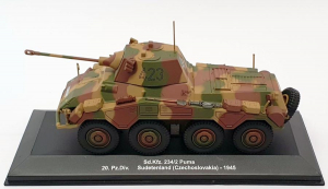 Macheta tanc german Sd.Kfz. 234/2 Puma, scara 1:430