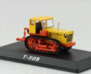 Macheta tractor T-50V Moldova, scara 1:430