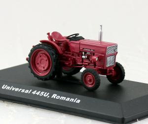Macheta tractor Universal 445, Romania, scara 1:43 [0]