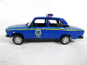 Macheta auto VAZ 2107, politia ucraineana, scara 1:430
