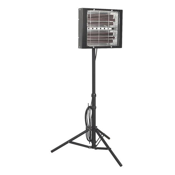 Lampa cu infraroșu Sealey LP3000 cu trepied pentru vopsea 3000W/230V 0