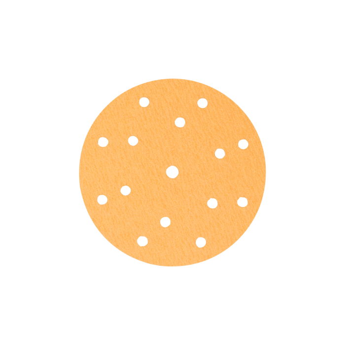 Disc abraziv slefuit Colad 3680xx Premium (8 + 6 + 1 gauri) velcro Ø 150 mm 0