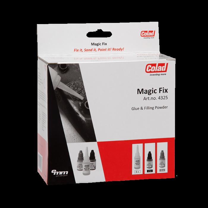 Adeziv rapid Magic Fix cu pulbere pentru diferite materiale 0
