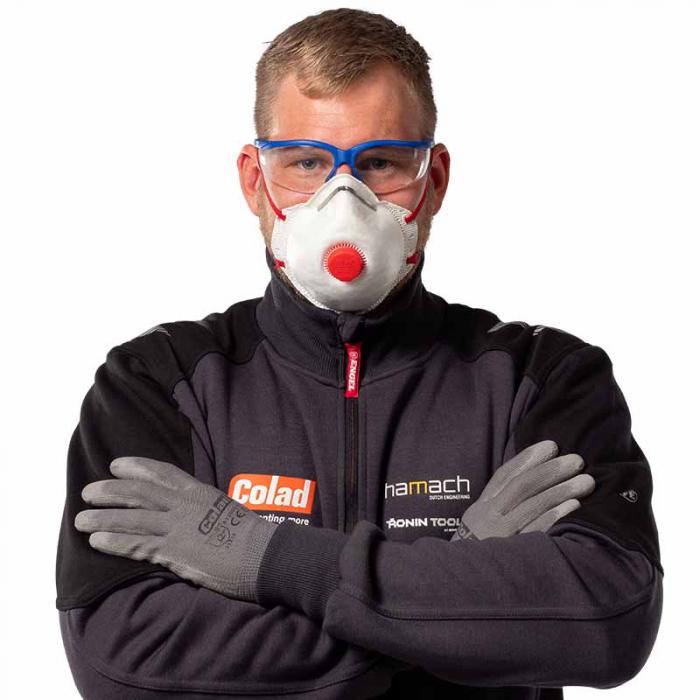 Masca particule Colad 5420 protectie respiratorie ridicata FFP2 cu supapa 1
