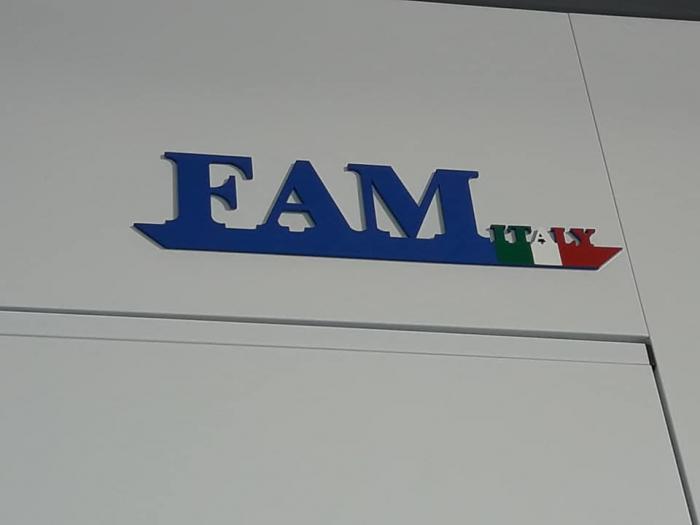 Cabina de vopsit completa, FAM Sylver 7200, arzator motorina RIELLO, dimensiune interioara 7200 x 4000 x 2800 mm, debit de aer: 20000 m3 / h [2]