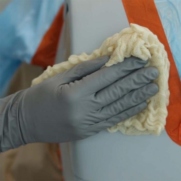 Laveta cerata antistatica, Colad 9175, dimensiune 81 x 92 cm, material 100% bumbac [1]