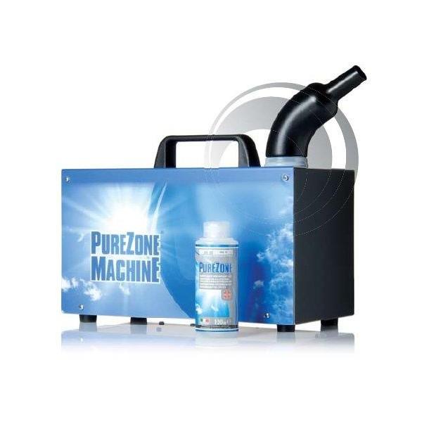 Nebulizator ultrasonic Errecom PureZone Machine elimina mirosurile datorate contaminării bacteriologice + 24 buc solutie dezinfectare 0