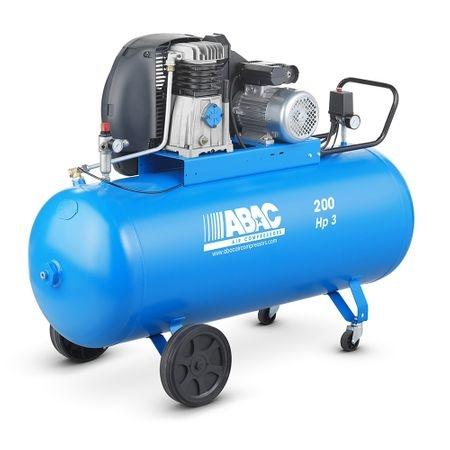 Compresor aer cu piston lubrifiat 200 litri ABAC 0