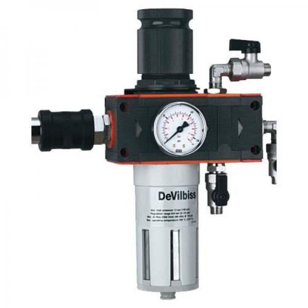 Filtru aer si ulei cu regulator DeVilbiss pana la 5 microni 0