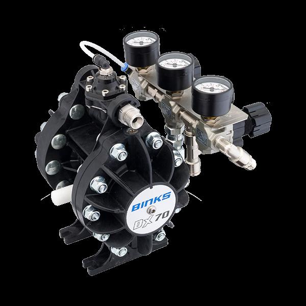 Binks DX70 1:1 ratio pompa cu diafragma 5