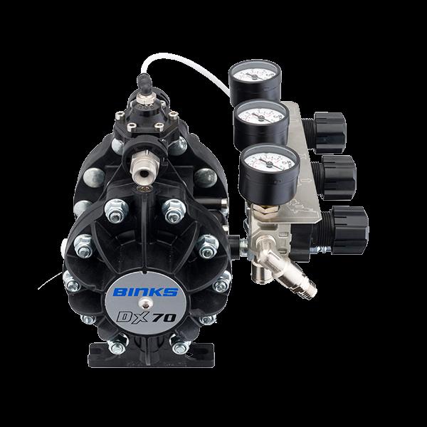 Binks DX70 1:1 ratio pompa cu diafragma 6