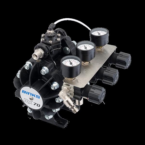 Binks DX70 1:1 ratio pompa cu diafragma 8