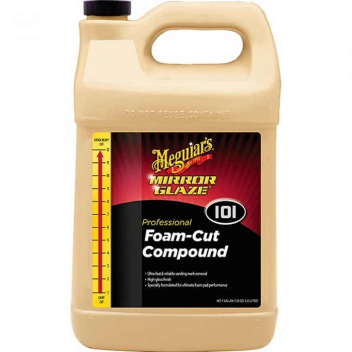 Pasta polish abraziva Meguiar's - Mirror Glaze Foam Cut Compound 3.78 litri 0