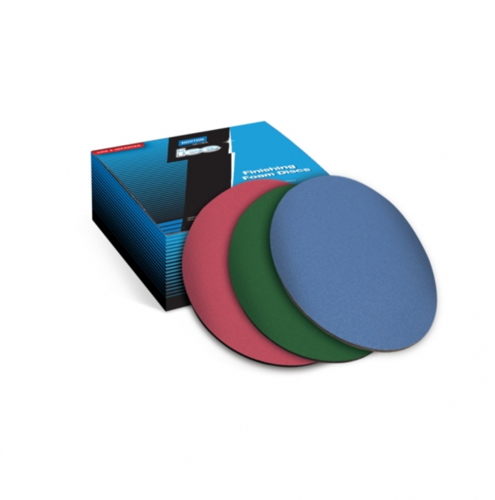 Disc spuma polish Norton Q255 ICE pe burete velcro Ø 150 mm [0]