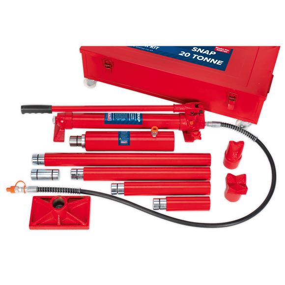 Set presa hidraulica 20T si accesorii pentru tinichigerie 1