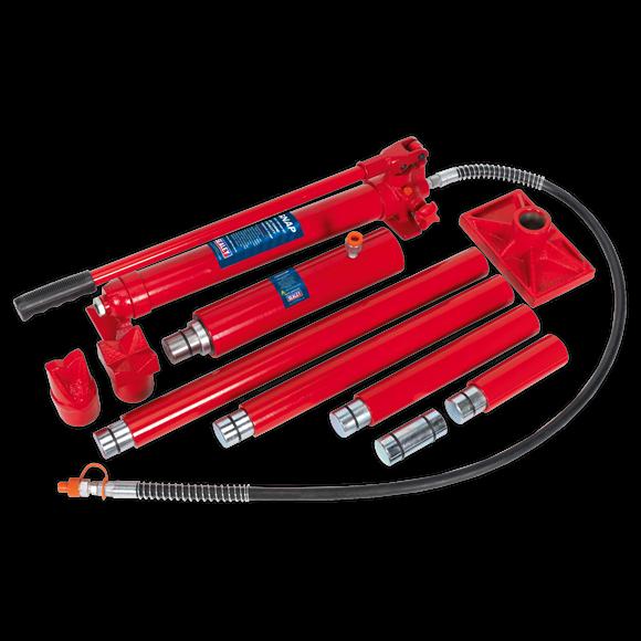 Set presa hidraulica 20T si accesorii pentru tinichigerie 3