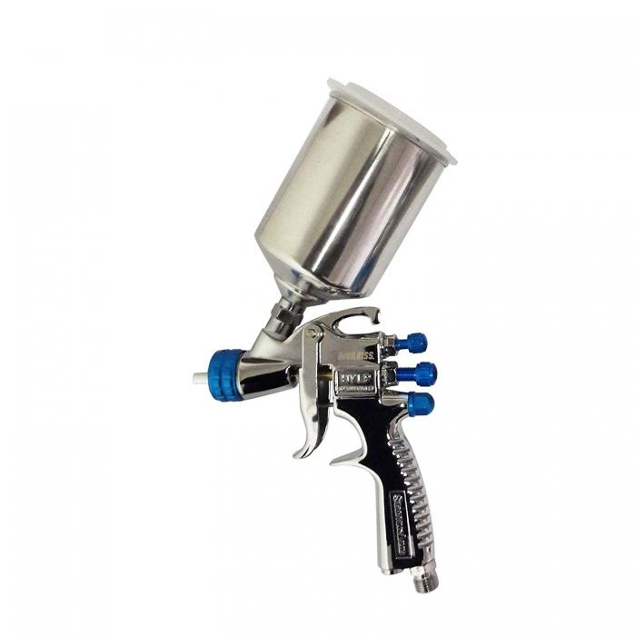 "Pistol de vopsit DeVilbiss SLG-650 ""Starting Line"", cupa aluminiu 550 ml si 250 ml, 3"