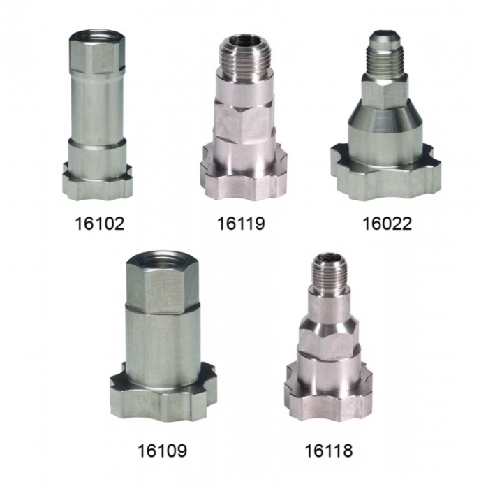 Sistem aplicat vopseaua 3M™ PPS™ adaptori pentru diferite pistoale de vopsit 0