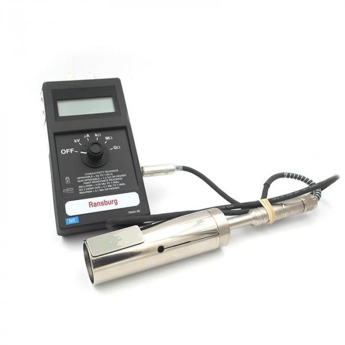 Pachet masurare, Ransburg 76652-03, verificat conductivitate suprafete, conductivitate vopsea [0]