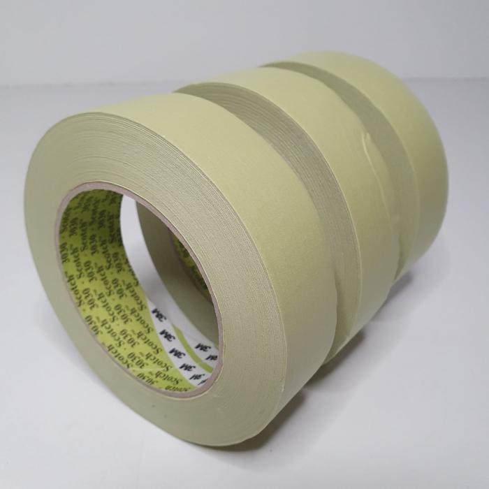 Banda mascare hartie 3M 3030 Scotch®, rezista pana la 100 °C, culoare verde, lungime 50 metri [3]