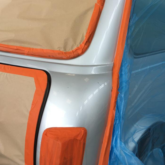Banda mascare hartie Colad 9000xx Orange™ Masking Tape, rezista pana la 100 °C, culoare portocaliu, lungime 50 metri 3