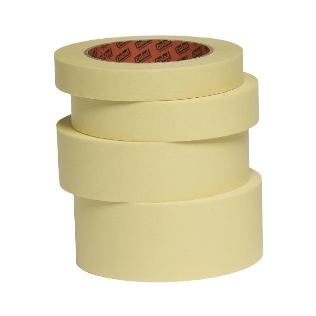 Banda mascare hartie Colad 9020xx Ultimate, rezista pana la 110 °C, culoare crem, lungime 50 metri 0