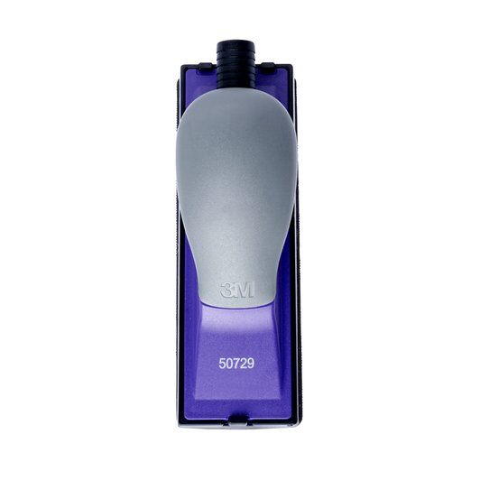 Bloc de slefuit manual 3M™ 50729 Hookit Purple+ cu aspirare 70mm x 198mm + 2 talpe convexa si concava 1