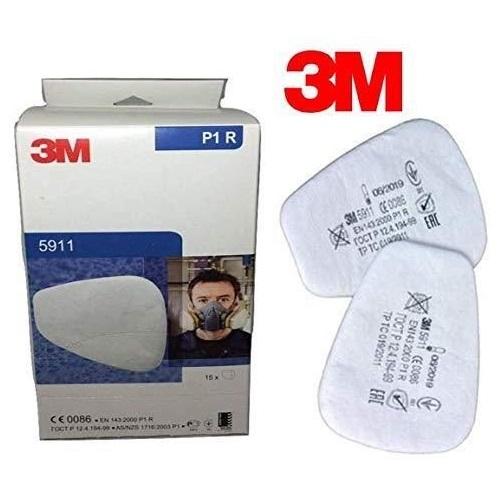 Prefiltre pentru masca 3M™ 5911 protectie particule P1 compatibile cu toate filtrele (set 2 filtre) 0