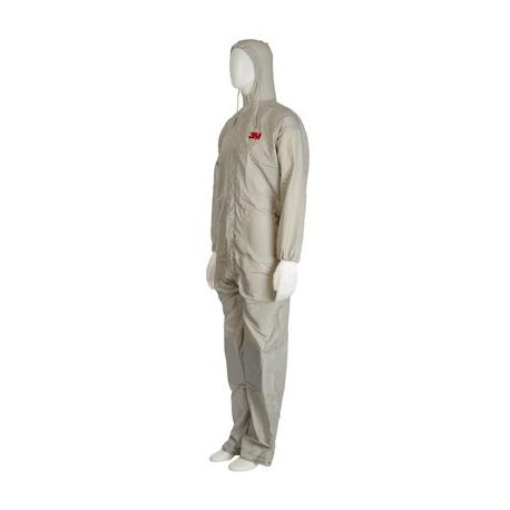Combinezon protectie impermeabil, 3M™ 50425, cu gluga, culoare gri, difetite marimi, foarte rezistent, fără scame pentru uz general 2