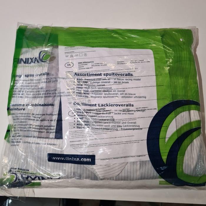 Combinezon protectie reutilizabil poliester cu gluga Finixa PHO protejaza impotriva substanțelor chimice 6