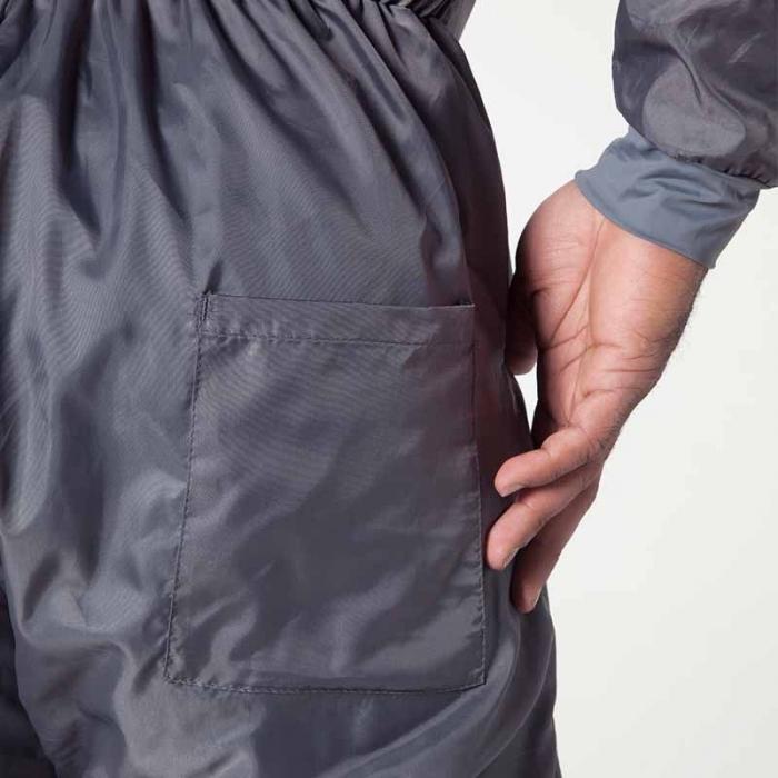 Combinezon protectie reutilizabil, Colad 5200xx BodyGuard® Premium comfort, culoare gri, cu gluga, material antistatic [6]