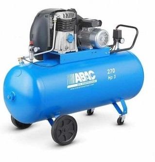 Compresor aer cu piston lubrifiat 270 litri ABAC 0
