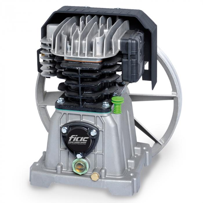 Compresor aer cu piston monofazat, Fiac AB300/415MC, alimentare 220 V, aer aspirat 410 l/min, butelie 270 litri [2]