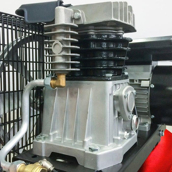 Compresor aer cu piston profesional, Fiac AB200/348MC, alimentare 220 V, aer aspirat 330 l/min, butelie 200 litri [1]
