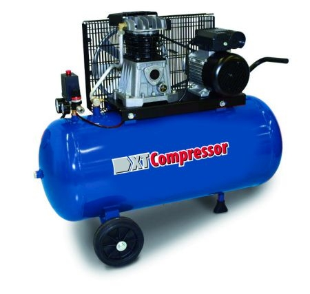 Compresor aer cu piston uscat 100 litri XT Tools 0