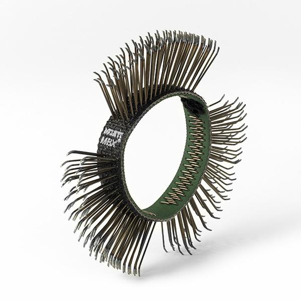 Curea coarse, black Monti MB-020-05 pentru scula electrica Monti MBX® curatat si pregatit suprafete, pachet 5 bucati, 11 mm 0