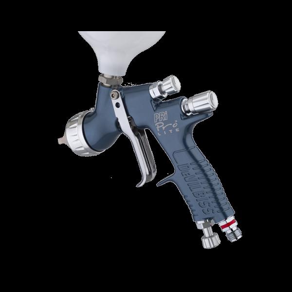 Pistol de vopsit DeVilbiss PRi Pro Lite, cupa plastic 560 ml, consum aer 300 l/min 1