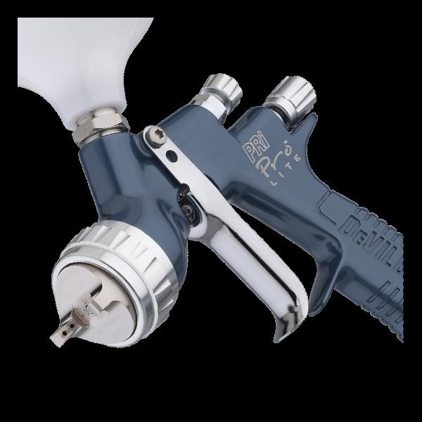 Pistol de vopsit DeVilbiss PRi Pro Lite, cupa plastic 560 ml, consum aer 300 l/min 2