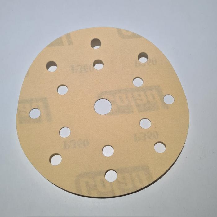 Disc abraziv slefuit, Colad 3680xx Premium, 15 gauri, duritate P40 - P1500, diametru Ø 150 mm [4]