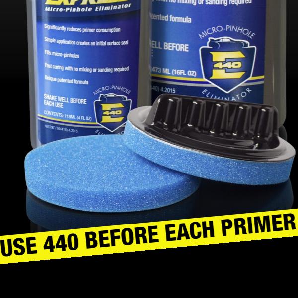 Burete cu suport pentru aplicat sealent, Evercoat® 104439, recomandat pentru aplicat chitul lichid 440 Express 0