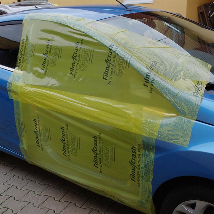 Folie adeziva Colad Film4Crash 6870 rezistenta UV protectie auto accidentate 75 cm x 60 m 3