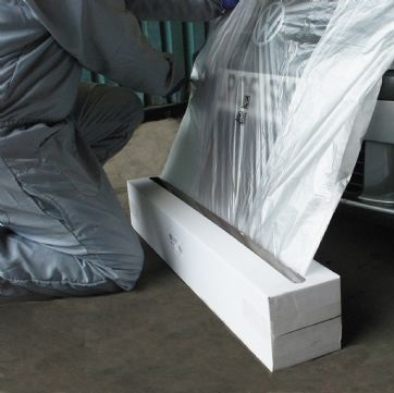 Folie mascare Maddox HDPE transparenta 4 m x 300 m 0