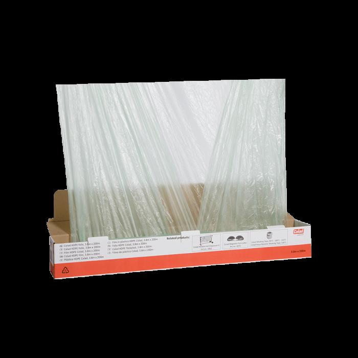 Folie mascare Colad 6340300 transparenta 3.8 m x 300 m 0